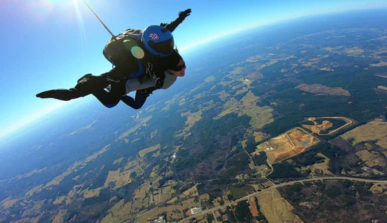 Skydiving Atlanta - 14,000ft Jump