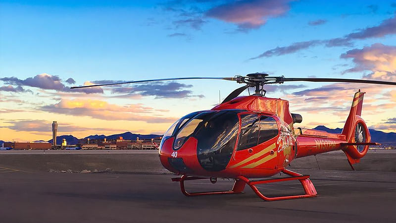 Helicopter Ride Las Vegas Strip, Night Lights Tour - 15 Minutes (INCLUDES LIMO HOTEL TRANSFER)