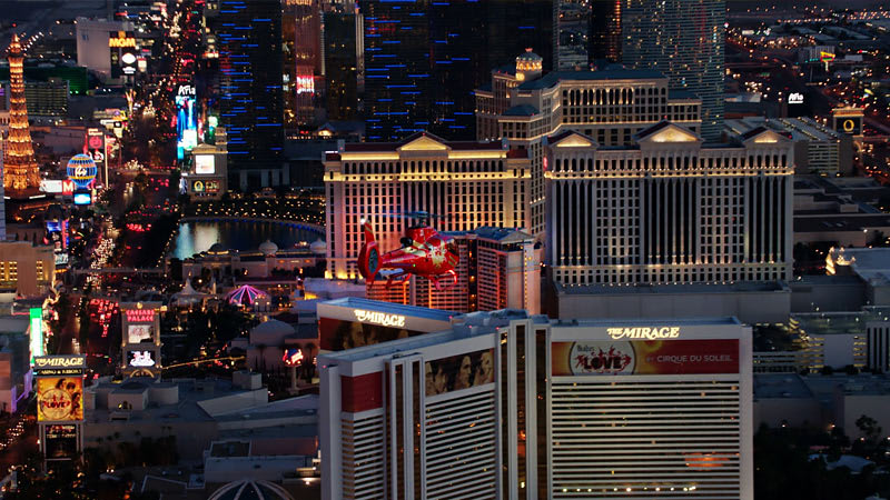 Helicopter Tour Las Vegas, Night Lights Limo Flight - 15 Minutes