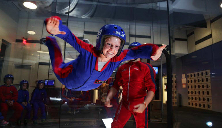 Indoor Skydiving Houston-Memorial - 2 Flights