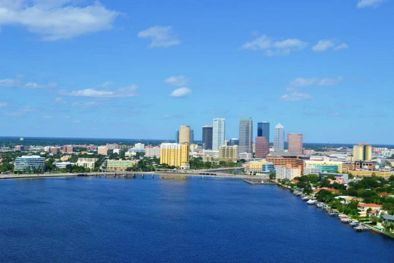 Helicopter Ride, Tampa Bay Tour