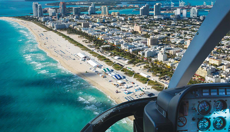 Helicopter Ride Miami, Grand Tour - 30 Minutes