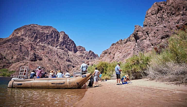 Rafting Black Canyon Landscape