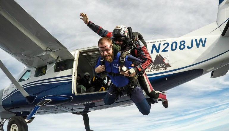Skydive Sacramento - 13,000ft Jump