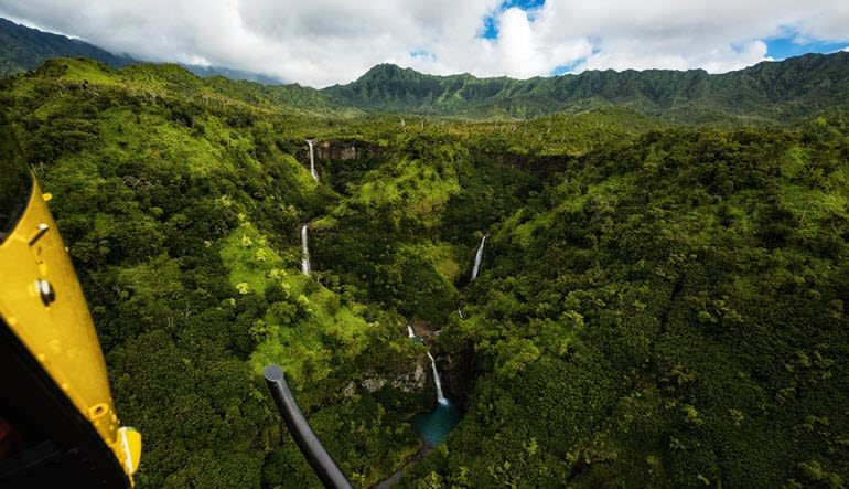 Private Helicopter Tour Kauai Island Waterfalls