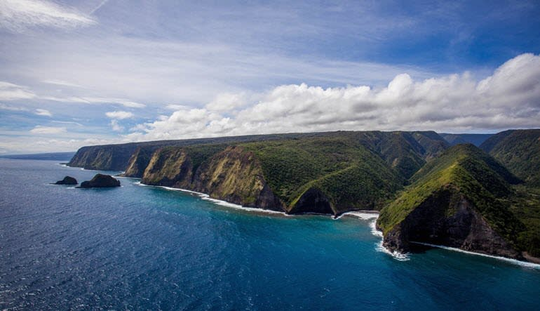 Private Helicopter Tour Kauai Island Coast