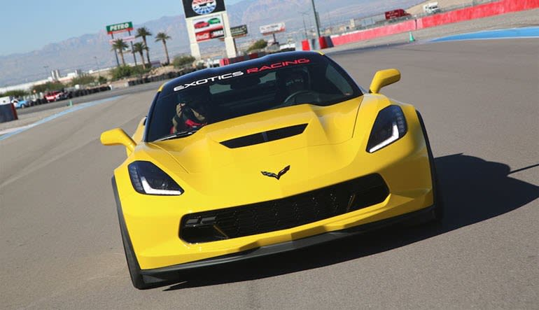 Corvette Z06 Ride-Along - Auto Club Speedway