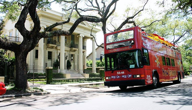 New Orleans Bus Tour, 3 Day Hop-On-Hop-Off Tour