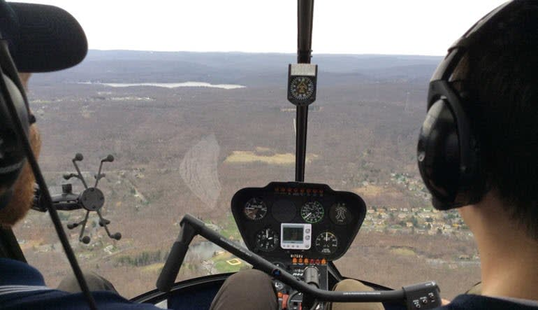 Helicopter Flight Lesson, Westchester Airport - New York City