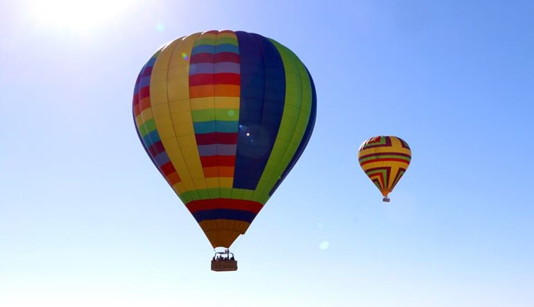 Hot Air Balloon Ride Sonoma