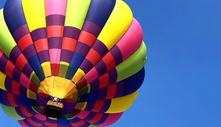 Hot Air Balloon Ride Sonoma High