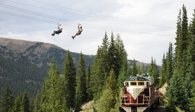 Ultimate Zip Line Mountain Tour, Denver - 5 Hours