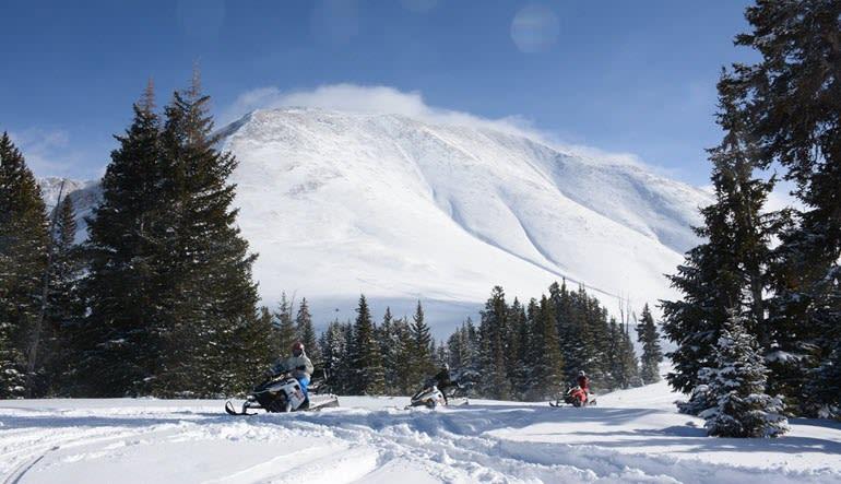 Snowmobile Tours Landscape