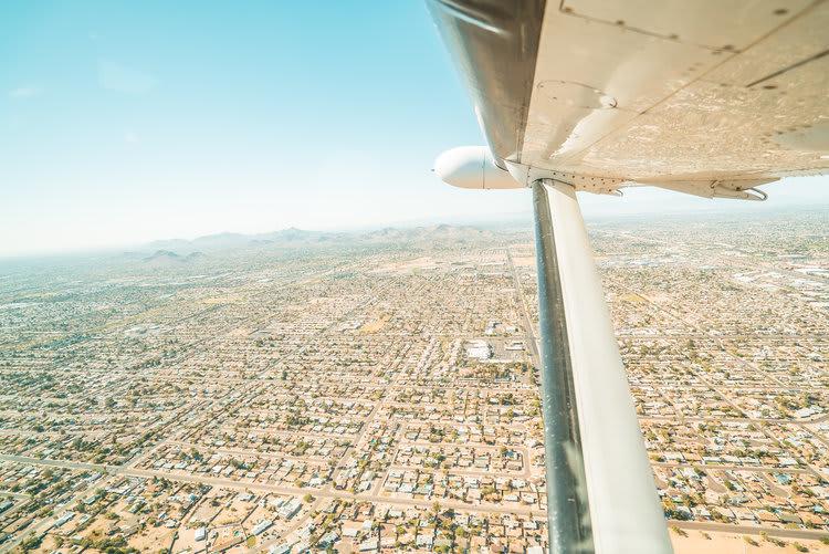 Scenic Flight Valley of the Sun Phoenix - 45 Minutes
