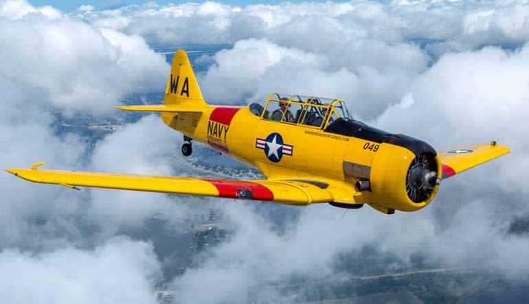 Warbird Flight Orlando Plane