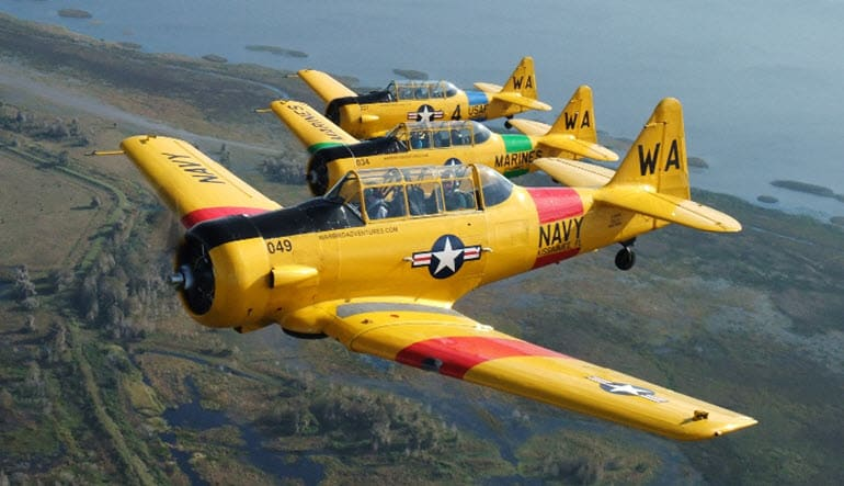 Warbird Flight Orlando Pilot