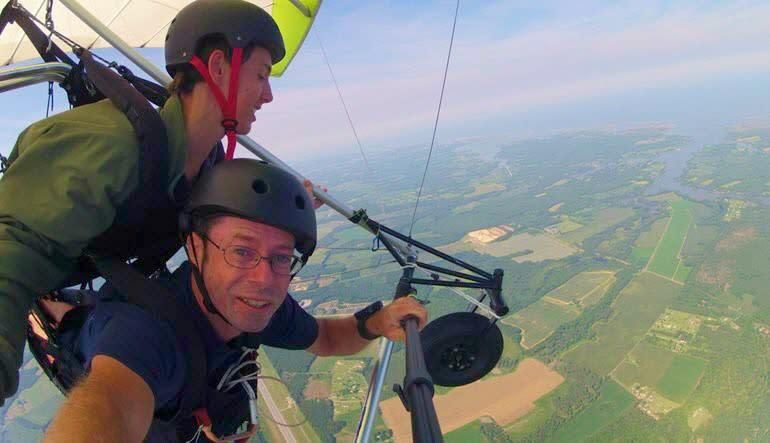 Hang Gliding Virginia - 3,500ft Flight