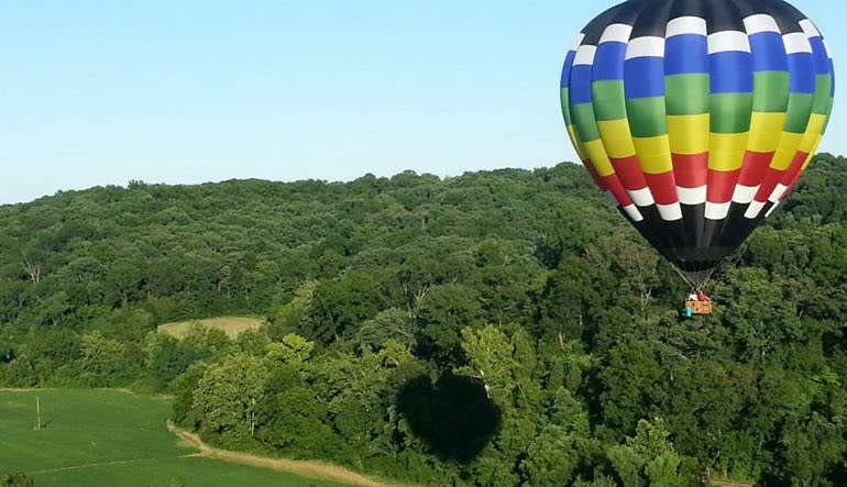 Hot Air Balloon Ride St. Louis - 1 Hour Sunrise Flight