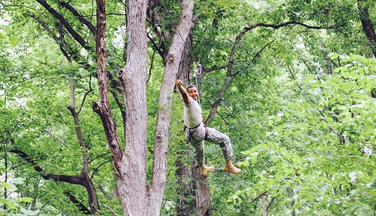Zipline Treetop Adventure Woohoo