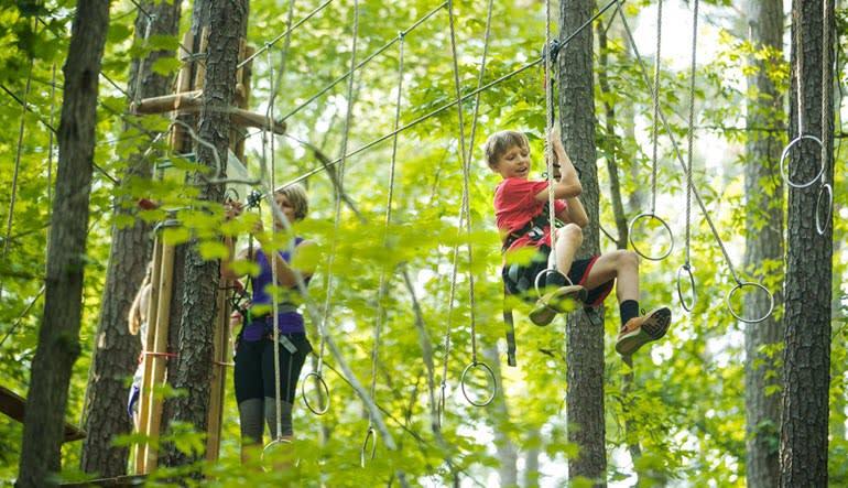 Zipline Treetop Adventure Indianapolis