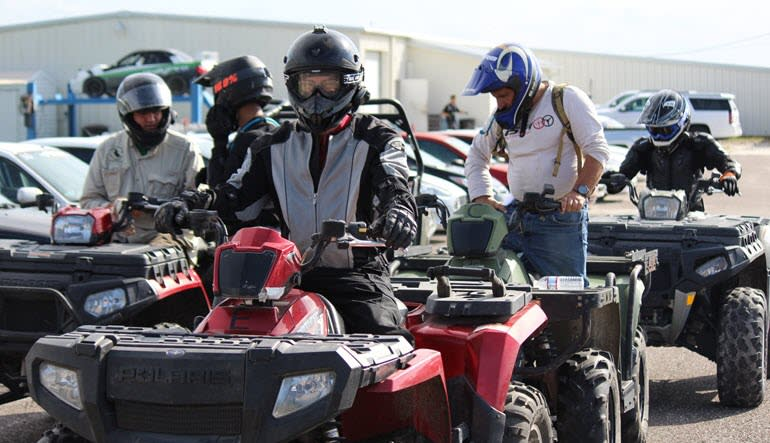 ATV Driving Course, Starke - Full Day