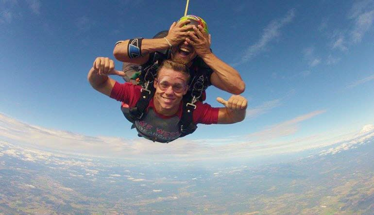 Sky Diving Toledo Superman