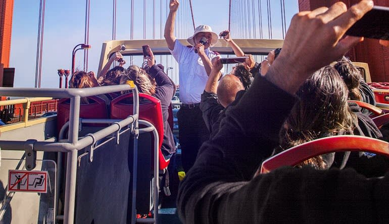 Open-top Bus Tour San Francisco - Day Pass