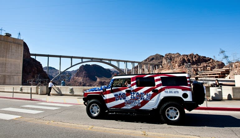 Hummer Tour Las Vegas Hoover Dam