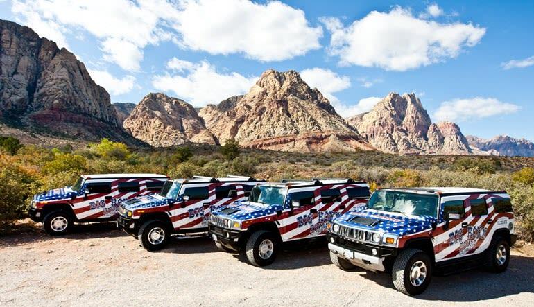 Hummer Tour Las Vegas Fleet
