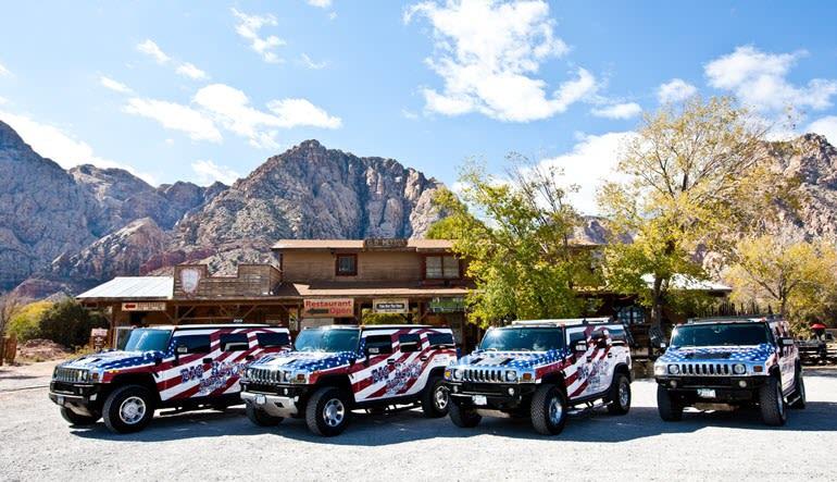 Hummer Tour Las Vegas Pitstop