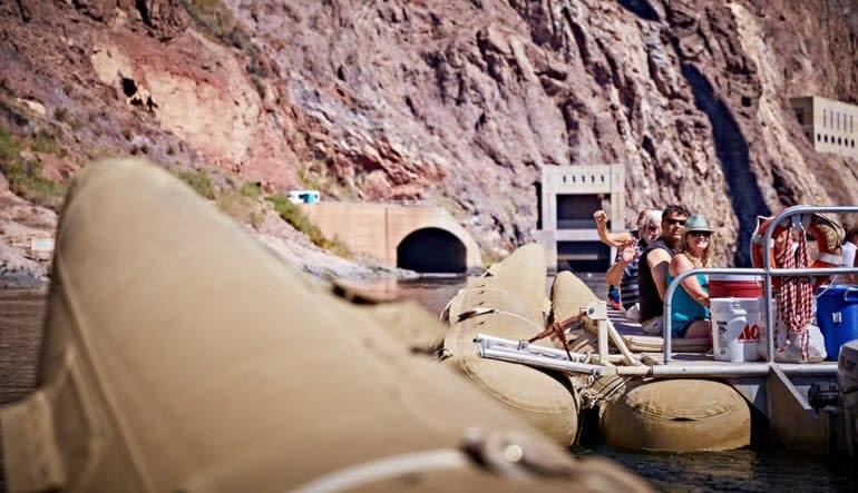 Black Canyon Rafting Las Vegas with Hotel Shuttle - 3 Hours (Raft Below Hoover Dam!)