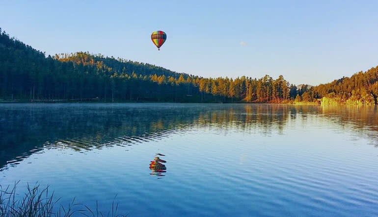 Hot Air Balloon Ride Black Hills South Dakota - 1 Hour Flight