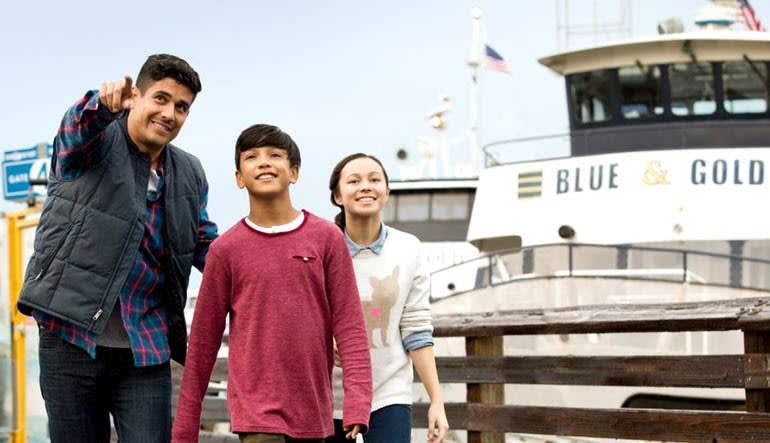 San Francisco Bay Cruise Family