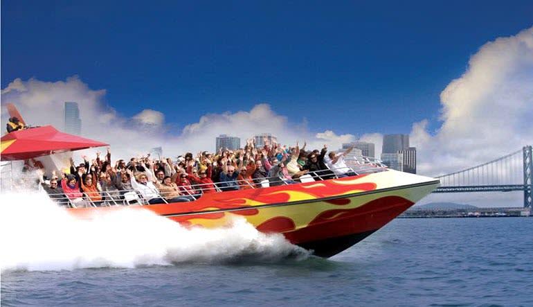 San Francisco Bay Rocket Boat