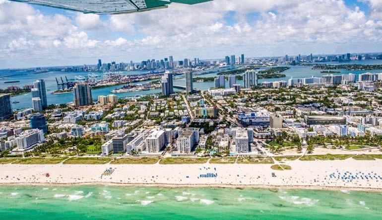 Miami Plane Tour Coastal