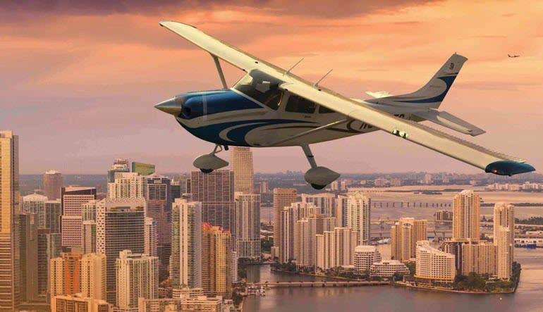 Miami Plane Tour Aircraft City