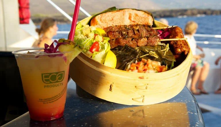Big Island Catamaran Dinner Cruise Dinner