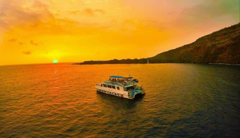 Big Island Catamaran Dinner Cruise Kealakekua Bay