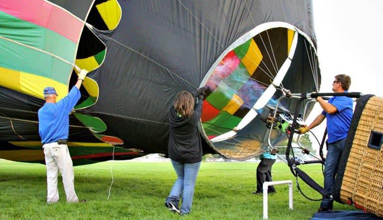Hot Air Balloon Ride Boise Helping Hand