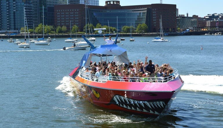 Codzilla Speed Boat Ride, Boston - 40 Minutes