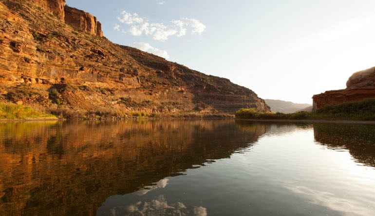 Colorado River Jet Boat Ride Landscape