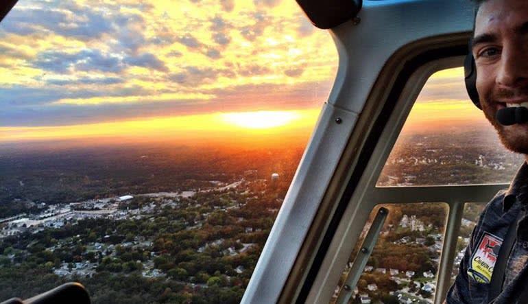 Helicopter Tour Baltimore Pilot