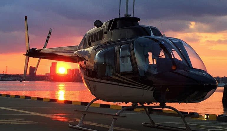 Helicopter Tour Baltimore Aircraft