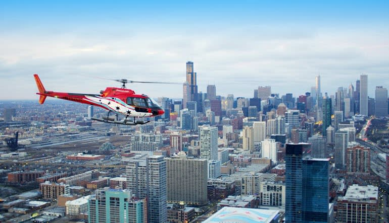 Helicopter Tour Chicago City Flight