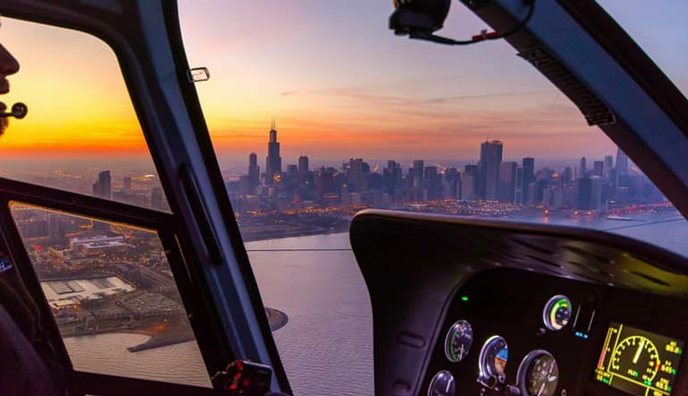 Private Helicopter Tour Chicago