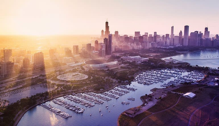 Private Helicopter Tour for 6 Chicago Views