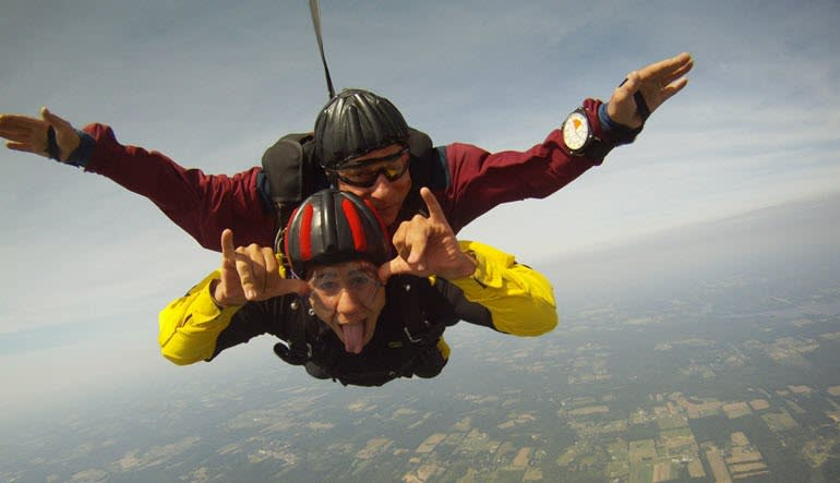 Cleveland Skydiving, 13,000 foot Skydive