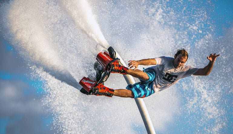 Flyboarding Miami Action