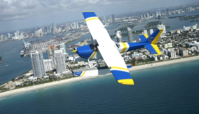 Seaplane Scenic Flight, Miami Skyline