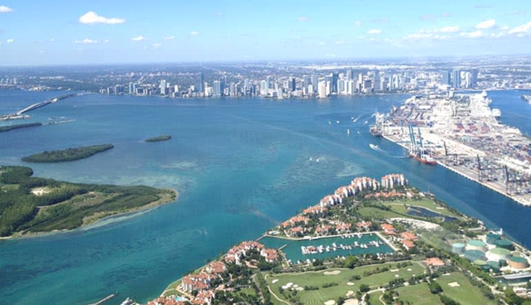 Seaplane Scenic Flight Miami Skyline Tour